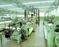 Sulzer shuttleless looms Shed of ICC textiles Limited